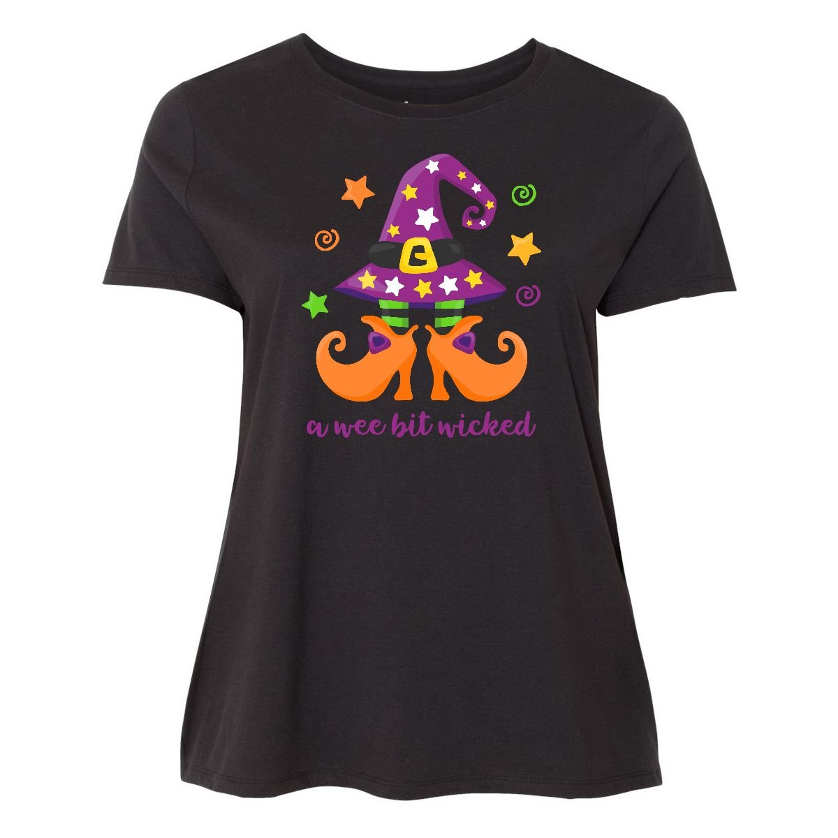Inktastic - Wee Bit Wicked Women's Plus Size T-Shirt