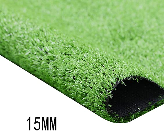 XEWNEG Cifrada Jardín Césped Artificial, 15mm De Alto, Verde Antideslizante Impermeable Falso Alfombra De Césped, Conveniente For Escaleras/Balcón/Decoración Jardín De Infancia (Size : 2x12M): Amazon.es: Hogar