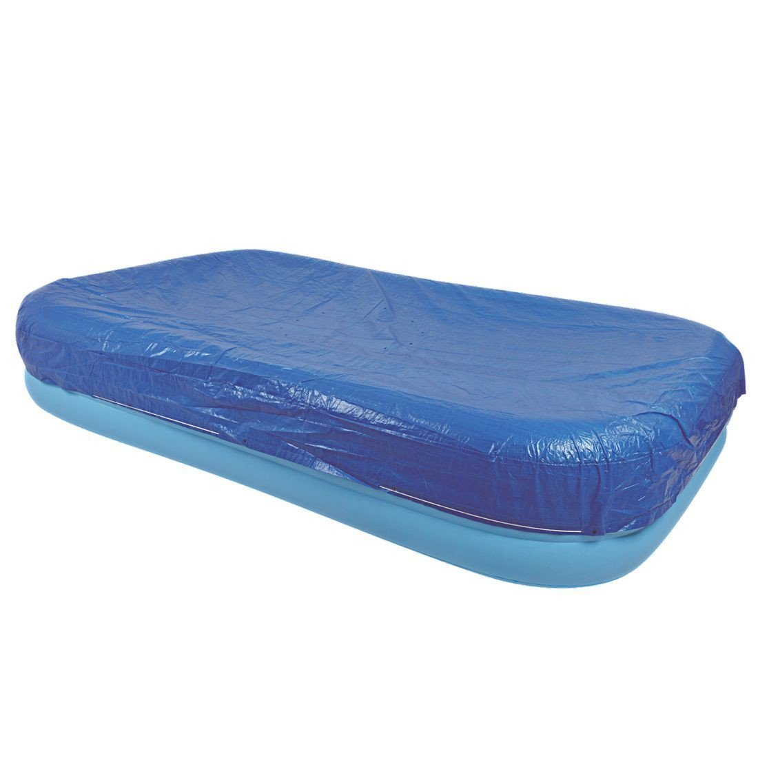 FiNeWaY@ HEAVY DUTY DELUXE RECTANGULAR FAMILY SWIMMING PADDLING POOL COVER FITS POOL SIZE (103