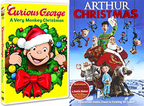 curious george dvd arthur christmas operation santa clause holiday movie set buy online in uae dvd products in the uae see prices reviews and free - Arthur Christmas Full Movie Online