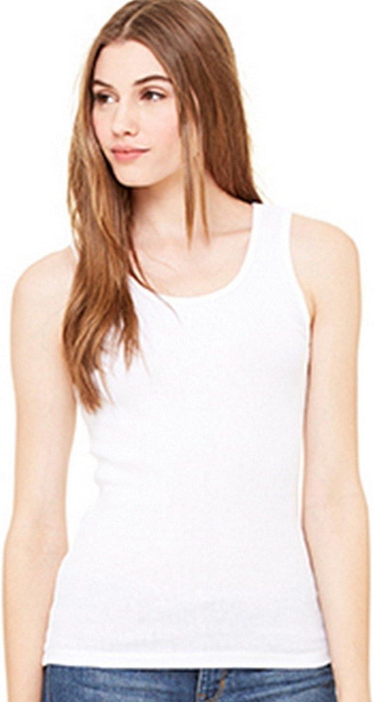 XL Bella Canvas Women/'s 2x1 Rib Tank Top 4000 Ladies sizes S 2XL SALE! M L