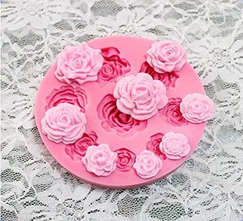 cioccolata sapone 9 hole rose JYSPORT stampi decorativi in silicone per torte biscotti ghiaccio