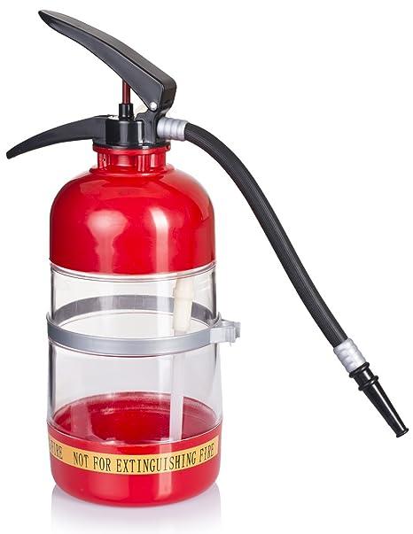 """Dispensador de bebidas en el diseño de """"extintor de incendios"""" - rojo aproximadamente"""