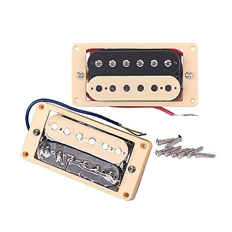 HEALLILY 2 unidades Guitarra eléctrica Humbucker Pickup doble ...