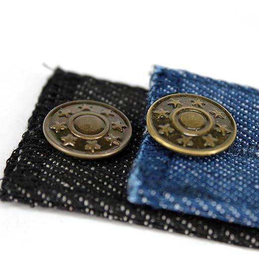 a0d31afb1 ROSENICE Extensor de Botón de Cintura para vaqueros Pantalones vaqueros Extensores  Pantalones Preestablecidos 8 paquetes