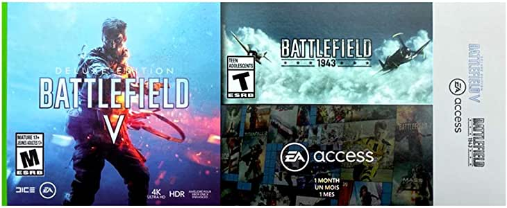 Xbox One Battlefield 5 V Digital Deluxe Edition y Battlefield 1943 ...