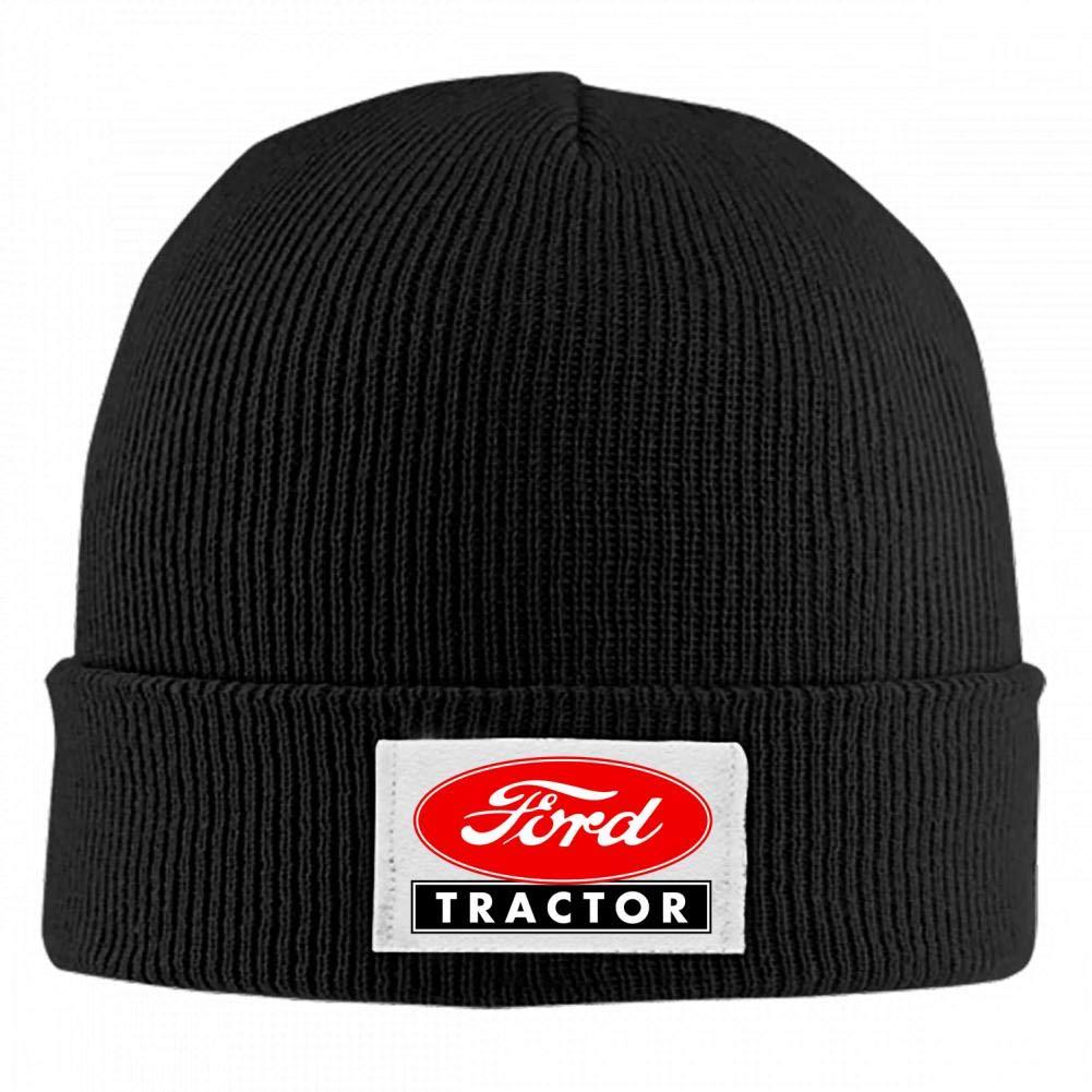 BEKAI for-d Tractor Logo Soft Skull Caps,Unisex Winner Warm Beanies Hats for Men//Women