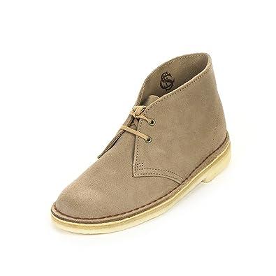 7bd11bfa28a Amazon.com | CLARKS Originals Desert Boots 5.5 B(M) US Women Sand ...