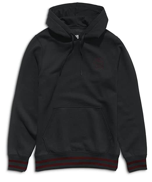 Etnies E-Corp Pull Over, Color: Black/Red, Size: L: Amazon.es: Ropa y accesorios