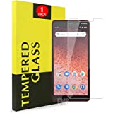 for Nokia 1 Plus Tempered Glass LCD Anti Scratch Screen Protector Film Guard (1 Pack)