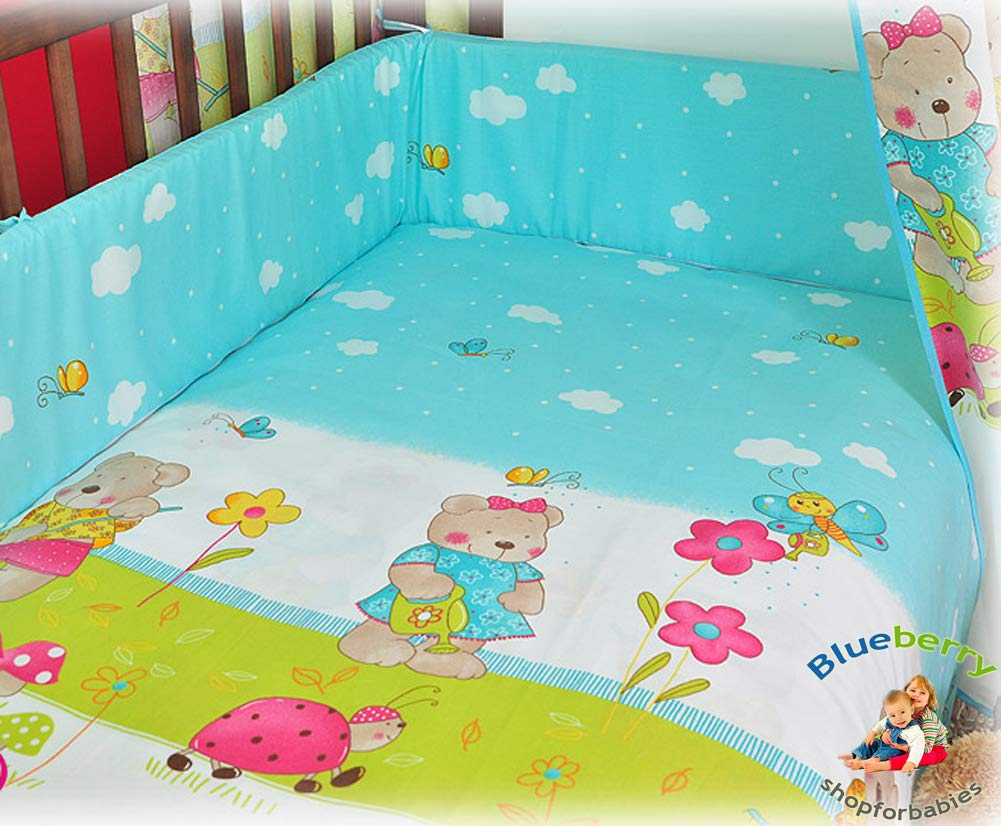 BABY FITTED COT BED SHEET PRINTED 100/% COTTON MATTRESS 140x70cm Cars