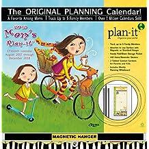 Wells Street by Lang WSBL Mom's 2018 Plan-It Plus Academic Wall Calendar (18997009167)