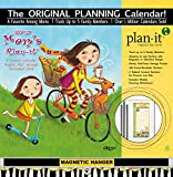 Wells Street by LANG - 2018 Plan-It Wall Calendar - 'Mom's' Artwork by Cindy Revell - 17 Month (Aug. 2017 - Dec. 2018) -  Pocket, Tab, Whiteboard - Open Size 12' x 26'