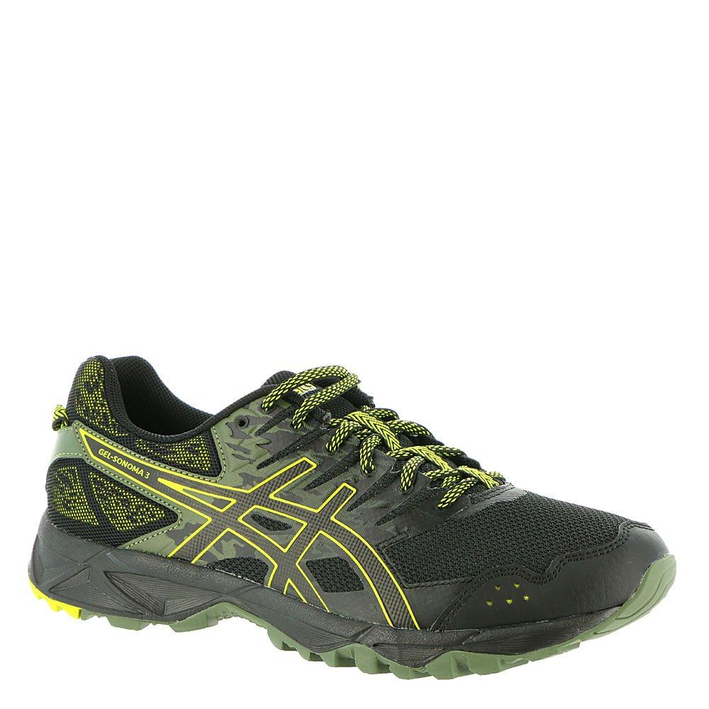 noir Sulphur Spbague noir 46.5 EU ASICS - Chaussures Gel-Sonoma 3 pour Homme
