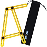 BLENDX Angle Measurement Tool - Angleizer Template Tool Tile & Flooring Measure Ruler and Layout Tools for Handymen, Builders, Craftsmen and DIY-ers