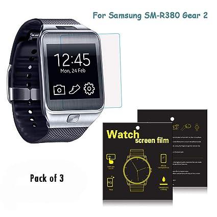 Samsung Galaxy Gear 2 R380 Smartwatch protectores de ...