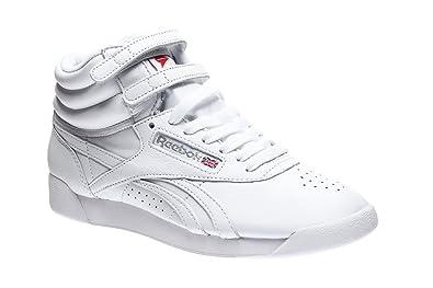Reebok Classic Damen Sneakers Freestyle HI OG Lux BD4468 FS HIGH OG Weiss  (10) 1dde7b23d0