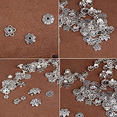 eded81e381c2 ... Espaciadores Mixtos Separador Abalorios Espaciador Cuentas de Plata  Tibetano para DIY Pulseras Collares Colgantes. Cargando imágenes... Atrás.  Pulsa ...
