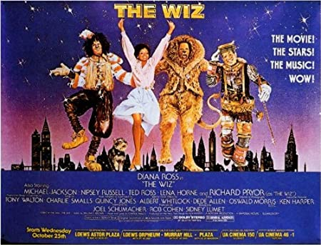 The Wiz Poster Movie D 11 x 14 In - 28cm x 36cm Diana Ross Michael