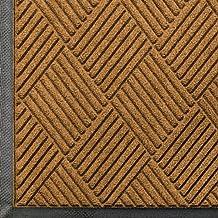 Andersen 208 Waterhog Classic Diamond Polypropylene Fiber Entrance Indoor/Outdoor Floor Mat, SBR Rubber Backing, 8.4-Feet Length X 4-Feet Width, 3/8-Inch Thick, Gold