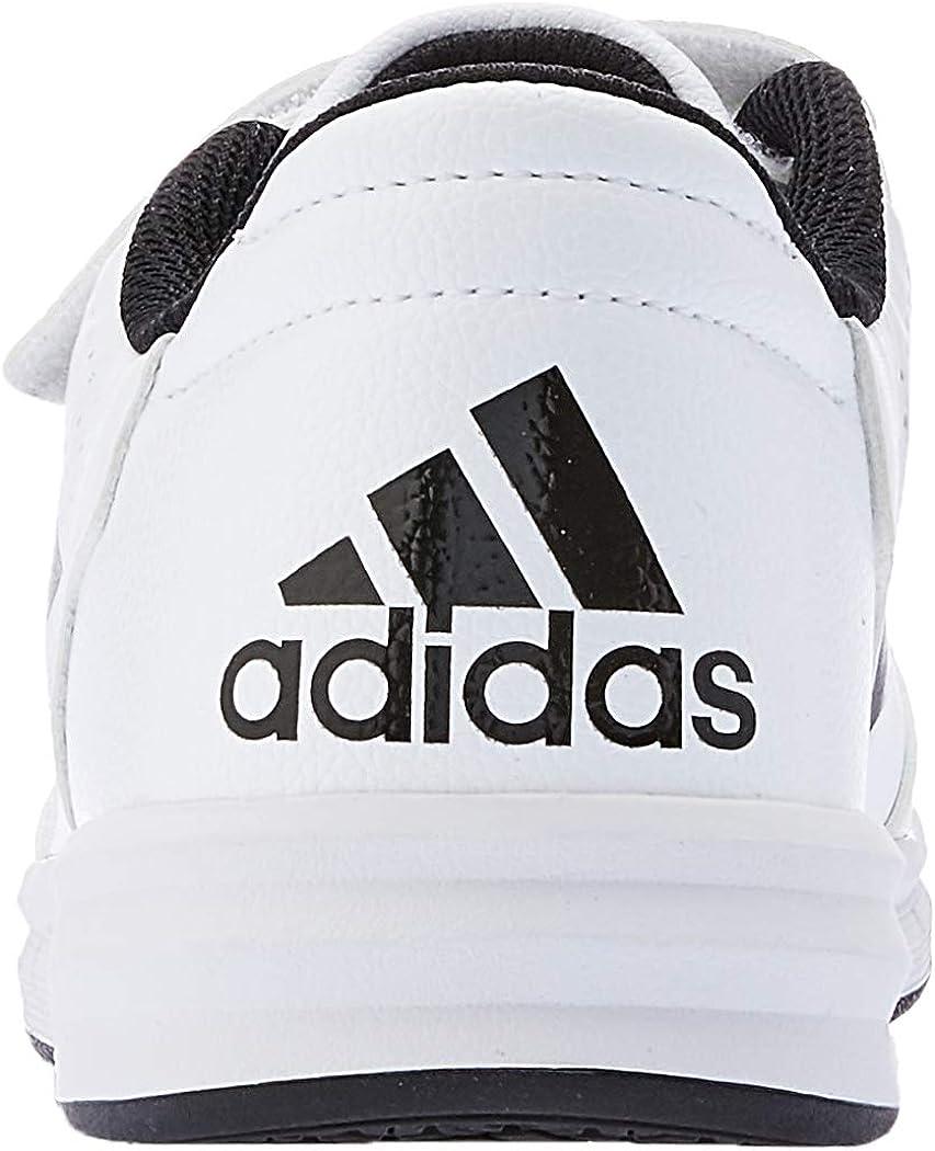 adidas AltaSport CF K, Chaussures de Fitness Mixte Enfant Blanc (Ftwbla/Negbas/Ftwbla 000)