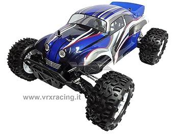 Truggy Escarabajo Motor eléctrico RC-550 Turbo Speed Nuova Radio 2.4 GHz 1: 10 RTR 4 WD: Amazon.es: Juguetes y juegos