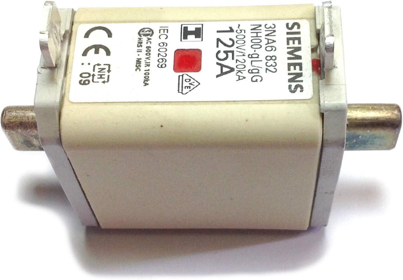 Siemens/ /nh-150/500/V t-00/Sicherung 125/A Indikator Central