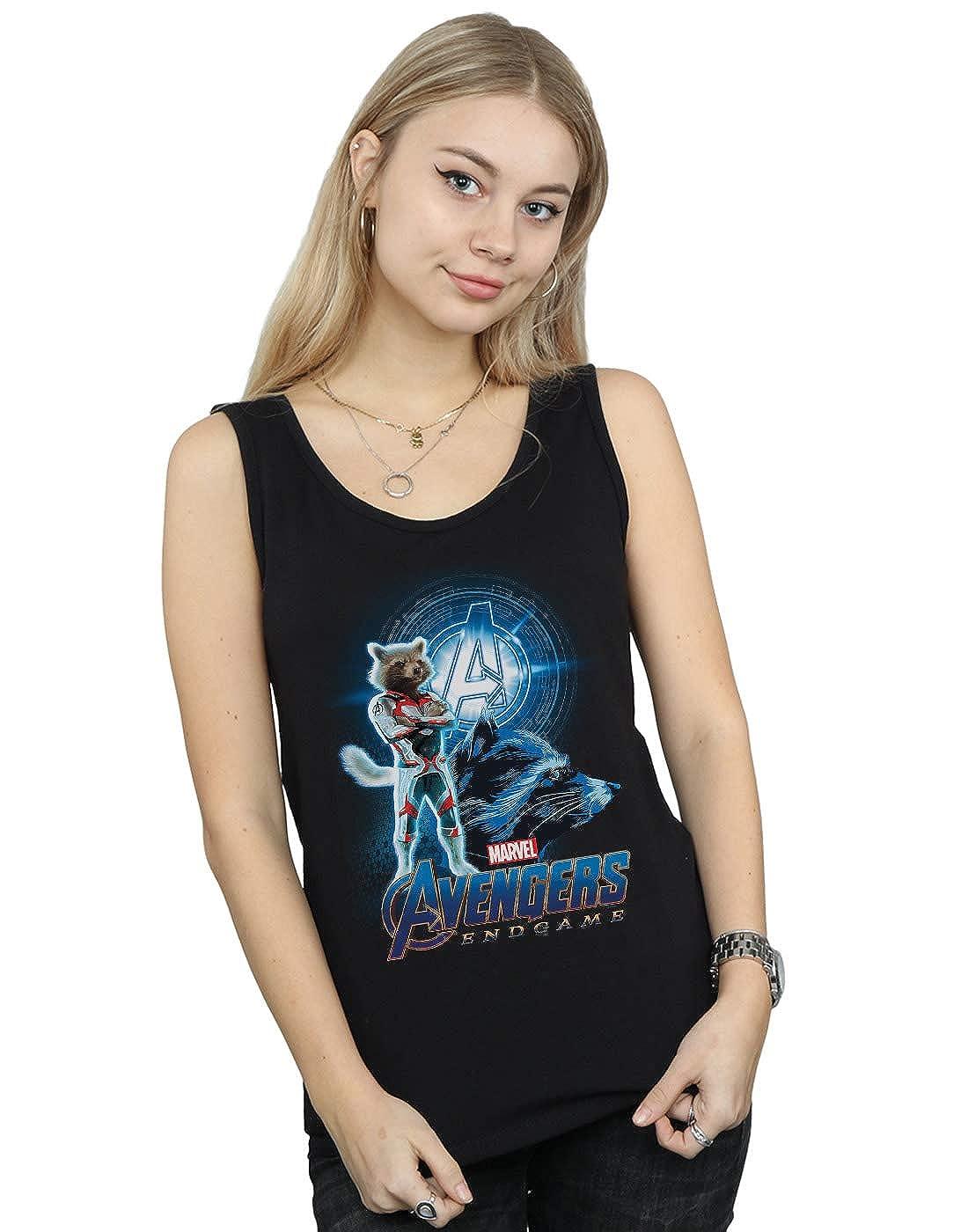 Marvel Femme Avengers Endgame Rocket Team Suit Tank Top