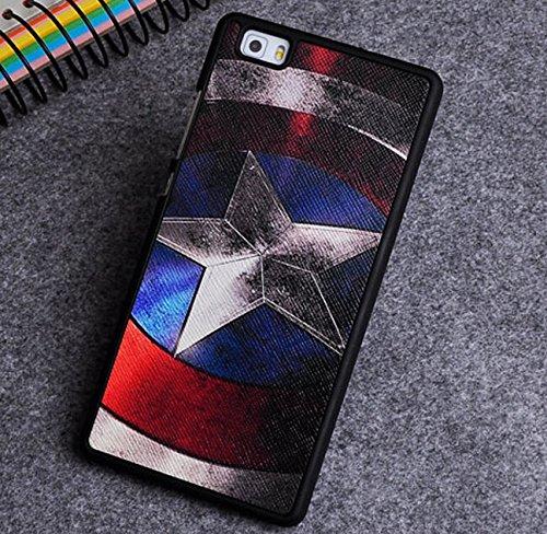 PREVOA ® 丨Colorful Silicona Funda Case Carcasa para Huawei P8 Lite 5.0 Pulgada Smartphone - 4