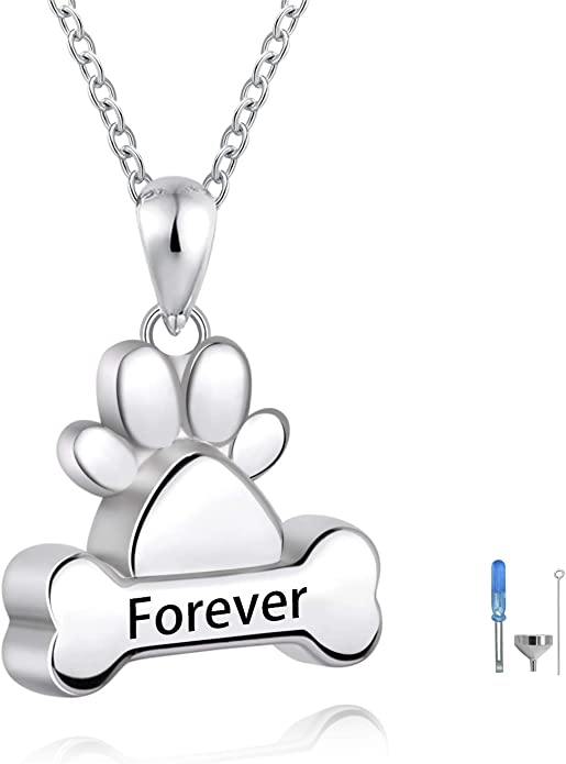 Urn Pendant Cat Urn-Keepsake Cremation Jewelry Cat-Pet Loss-Memorial Necklace-.925 Sterling Silver