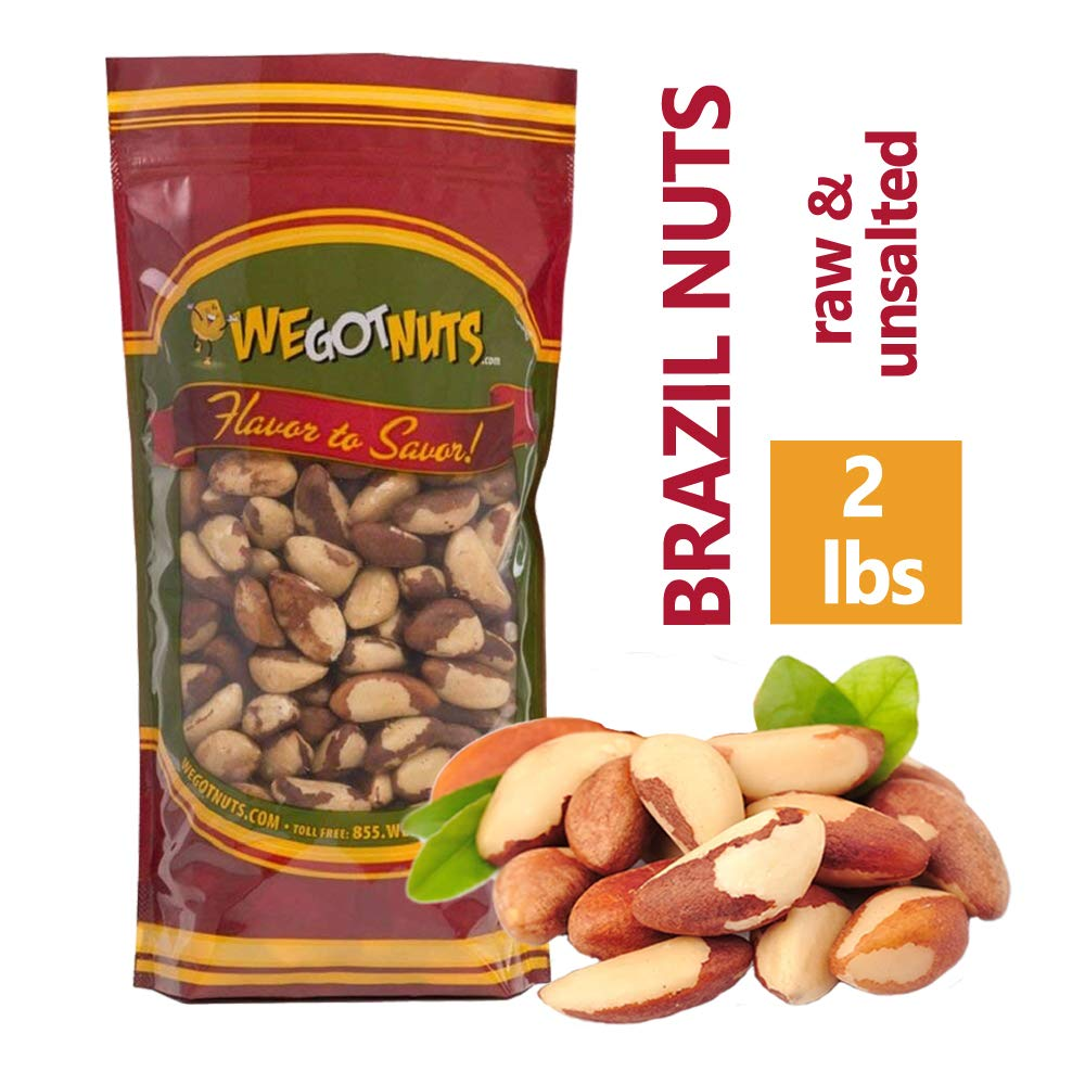 Amazon com : Brazil Nuts - 2 Pounds, Whole, Shelled, Raw