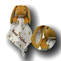 Guess How Much I Love You Kids Preferred Personalized Nutbrown Hare Snuggle Blanky Blanket - 14 Inches