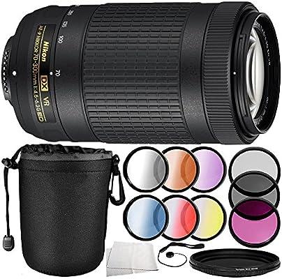 Nikon AF-P DX NIKKOR 70-300 mm f/4.5-6.3G ED VR Lente 10