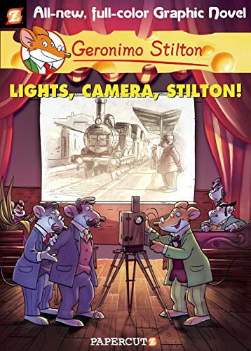 Image of Geronimo Stilton Graphic Novels #16: Lights, Camera, Stilton!
