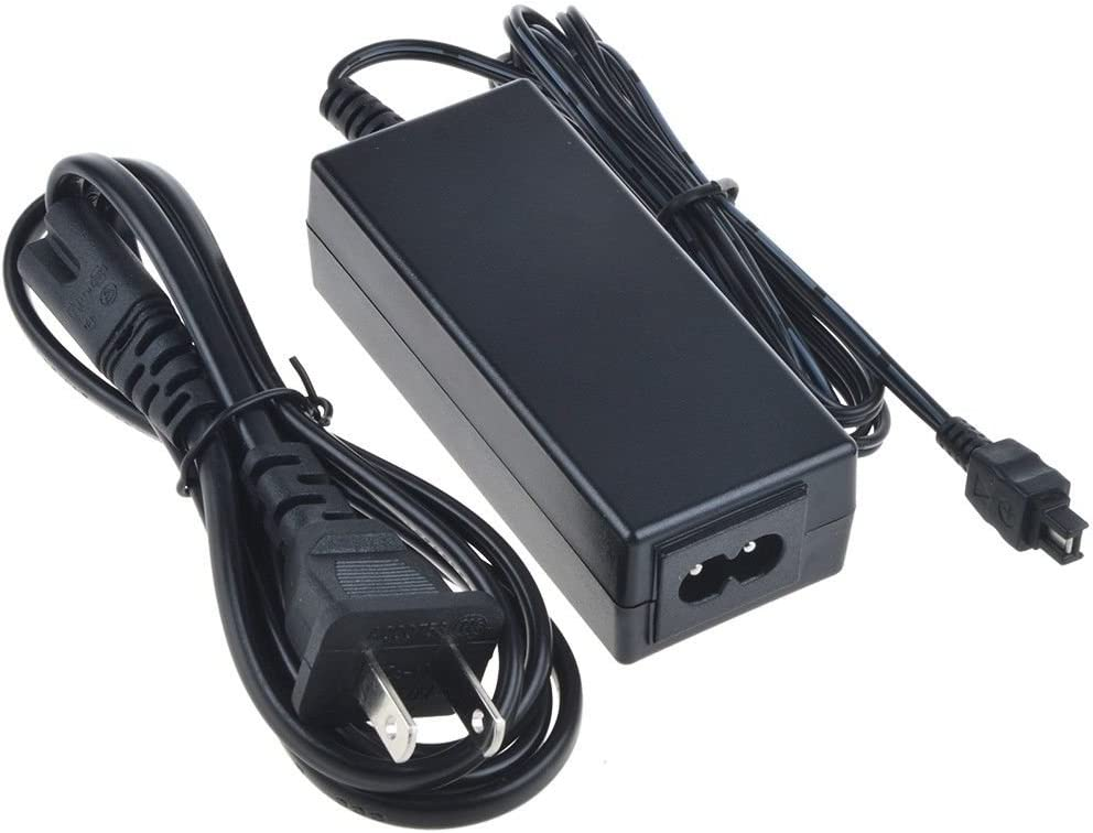 DCR-DVD650E DCR-DVD850 AC Power Adapter Charger for Sony DCR-DVD650 DCR-DVD850E Handycam Camcorder