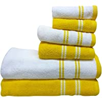 Spaces 6-Pieces Cotton Towel Set