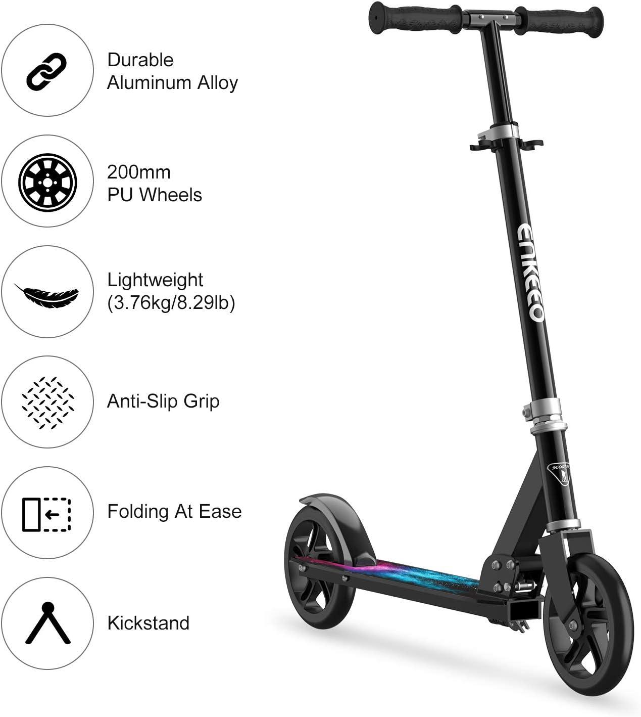 Amazon.com: Enkeeo patinetes con capacidad de 220 libras ...
