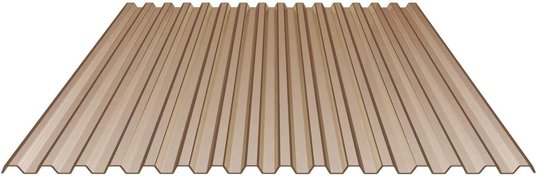 Nord-Industriegummi – Placa de Luz tablestaca placa | Perfil 70/18 | material PVC, Ancho 1095 mm, 1,2 mm de grosor, color transparente bläulich: Amazon.es: Bricolaje y herramientas