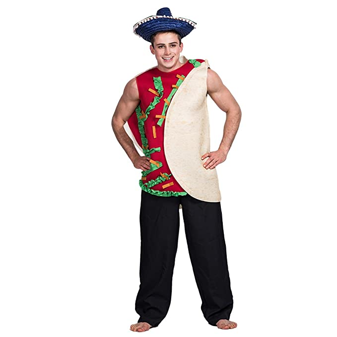 Amazon.com: FantastCostumes Mens Halloween Mexican Taco ...