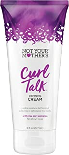 product image for Not Your Mothers Curl Talk Defining Cream 6 Ounce (177ml)