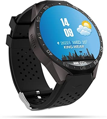 Wosonku Smart Watch 3G, Bluetooth WiFi GPS con Cámara 2.0MP ...