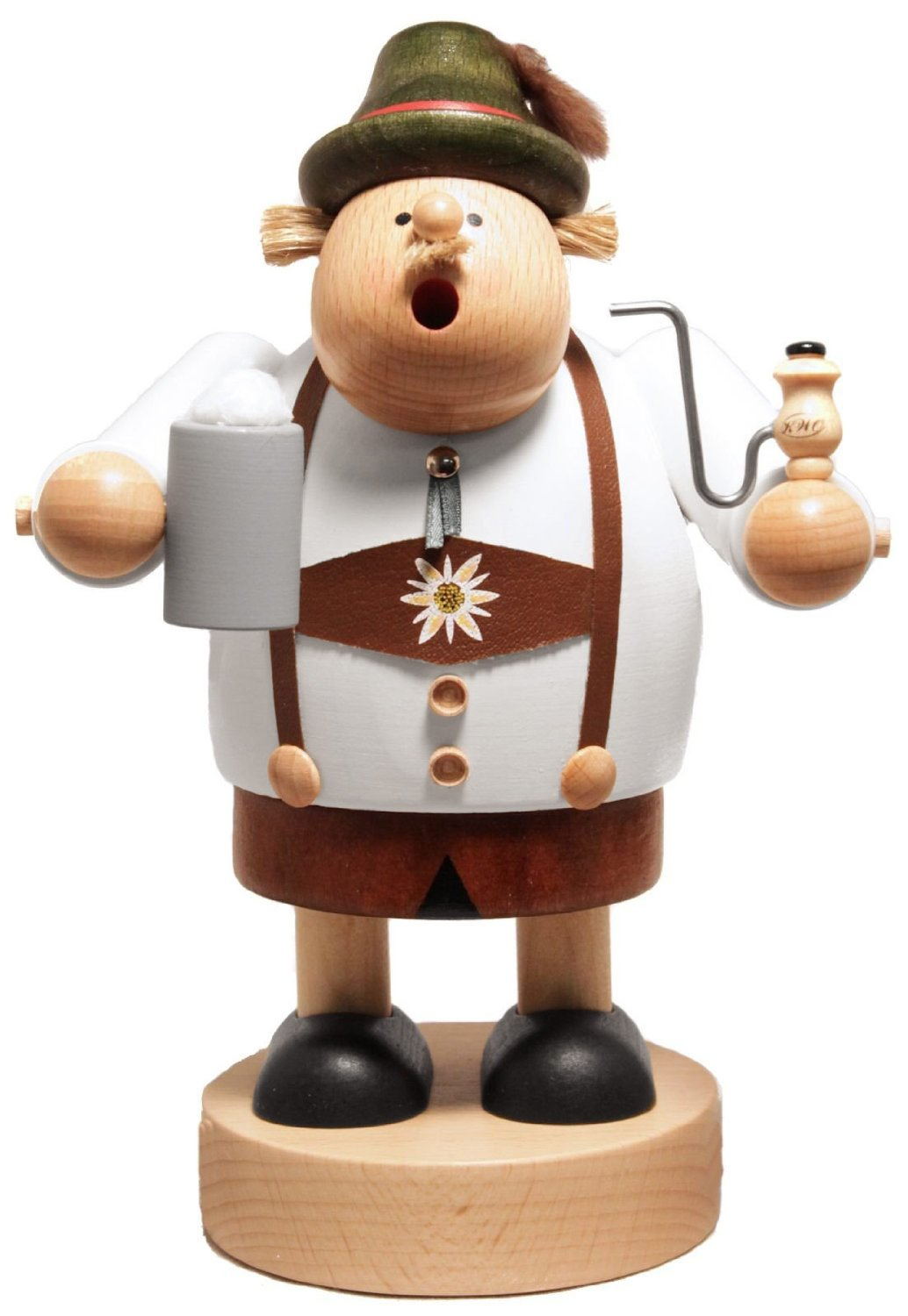 KWO Oktoberfest Bavarian Drinking Beer German Smoker - Approx 7.25 in Tall - ... by KWO (Image #1)