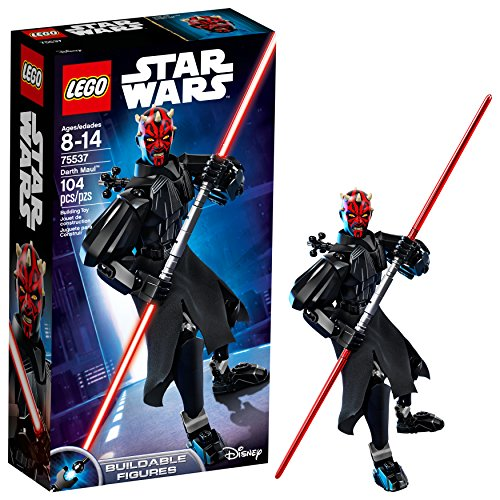 LEGO Star Wars Darth Maul 75537 Building Kit (104 Piece) (Lego Star Wars Double Sets)