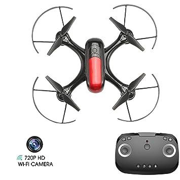 LJXWXN Drone GPS, Drone con Cámara 720P HD con Follow Me, 120º ...
