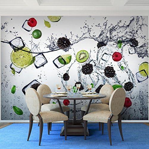 Tapete Vlies Fototapete für die Küche Obst Wasser Neuestens Design Hohe Qualität