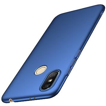 anccer Funda Xiaomi Redmi S2 [Serie Colorida] [Ultra-Delgado] [Ligera] Anti-rasguños Estuche para Carcasa Xiaomi Redmi S2 (Azul Liso)
