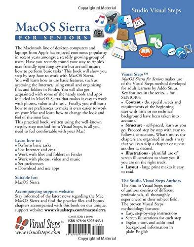 MacOS Sierra for Seniors: