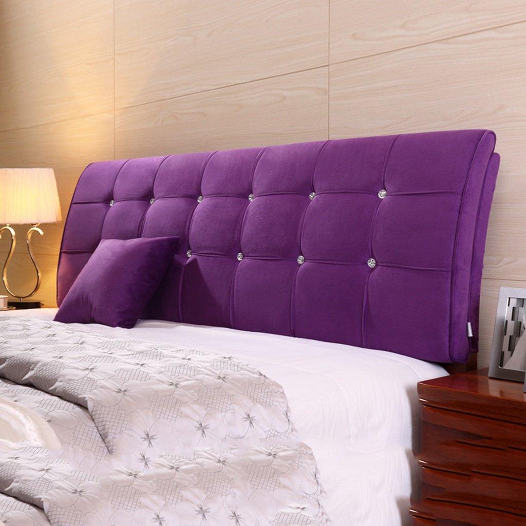 Arc Bedside Soft Case Doble respaldo de respaldo de cama Almohadilla de cama Bedside Cover (Color : # 5 , Tamaño : 150*62cm) : Amazon.es: Hogar