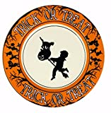 Bethany Lowe Halloween Party Ceramic Salad Plate