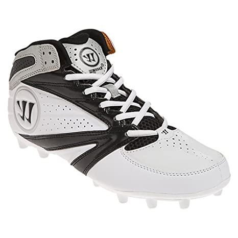 13da9ad86 Image Unavailable. Image not available for. Color  WARRIOR New Mens  Lacrosse Burn 8.0 Mid Cleats ...
